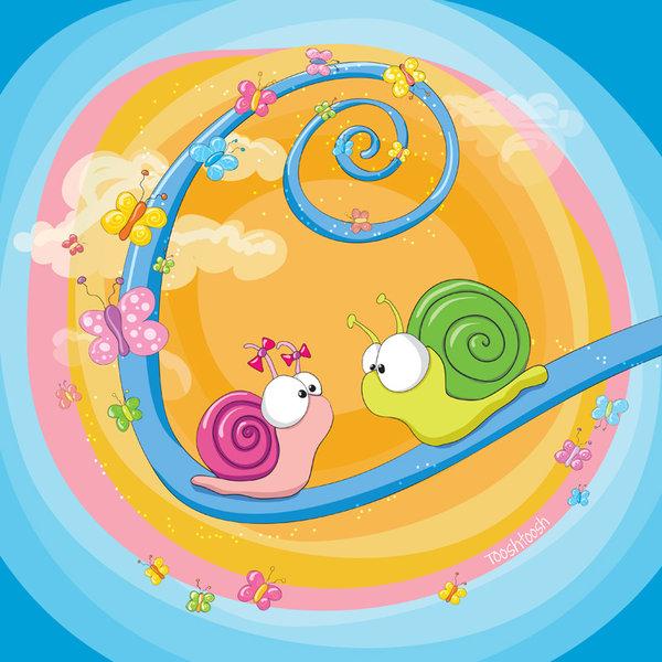 Loving_snails - The return by Tooshtoosh