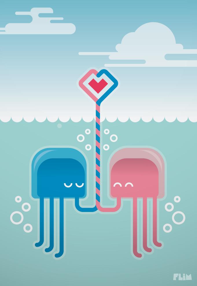 Underwater love by ivan bliznak