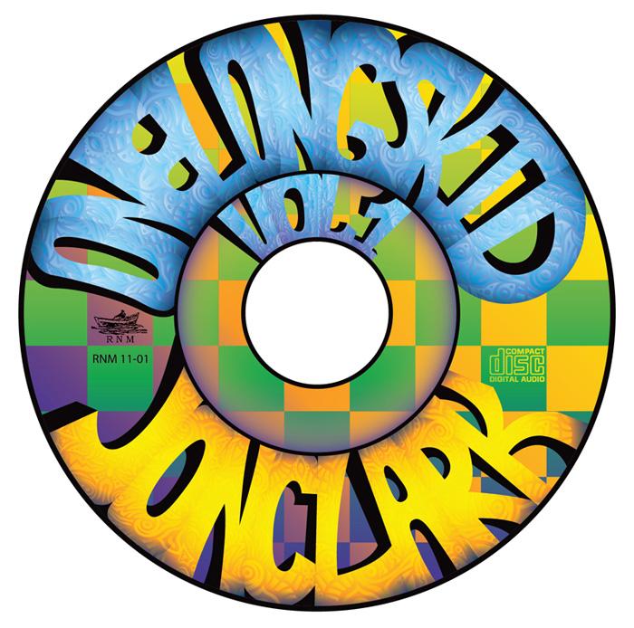 Jon Clark - One Long Skid Vol.1 - album cover design - CD