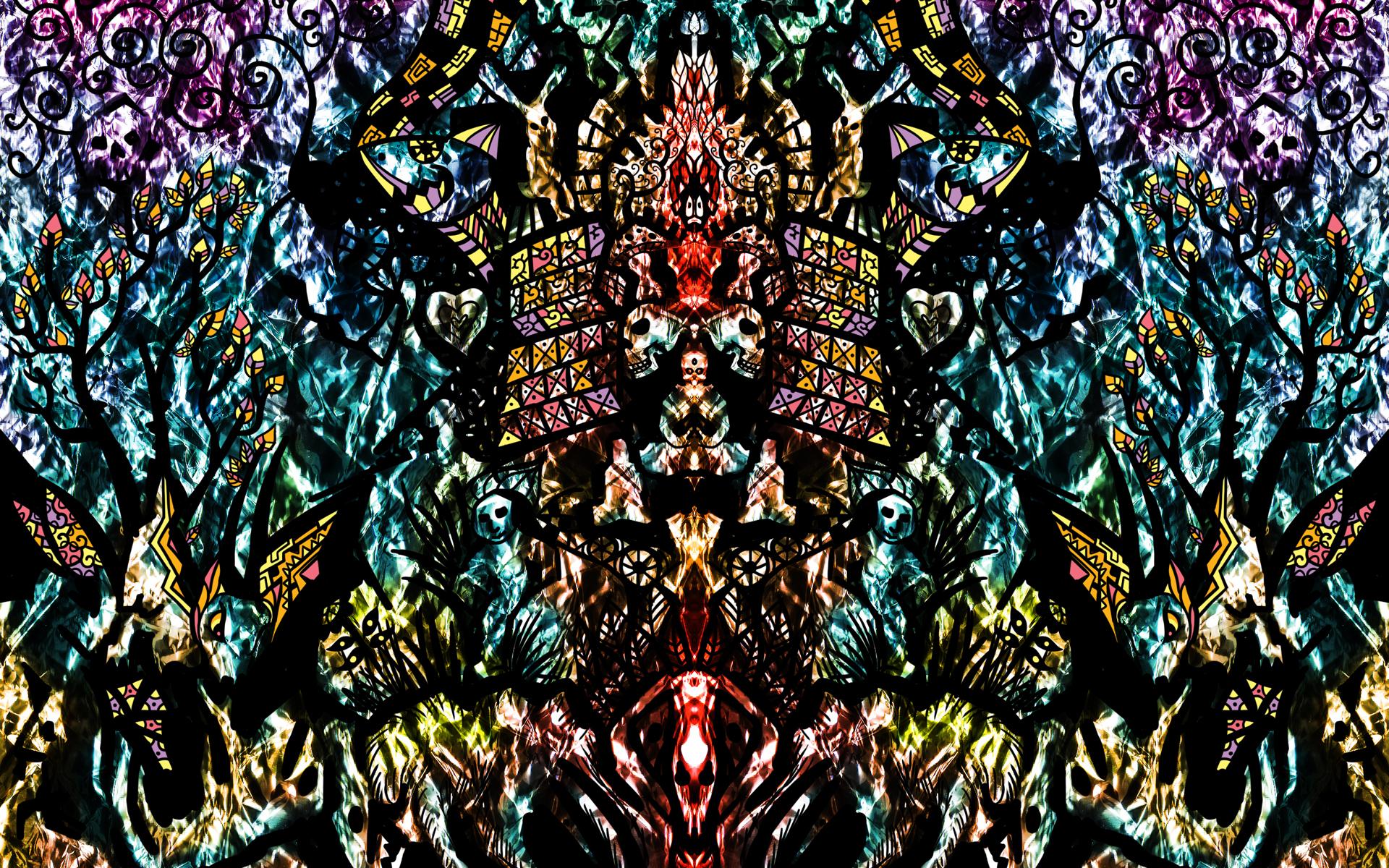 Foil Unity Psychedelic Wallpaper Andrei Verner