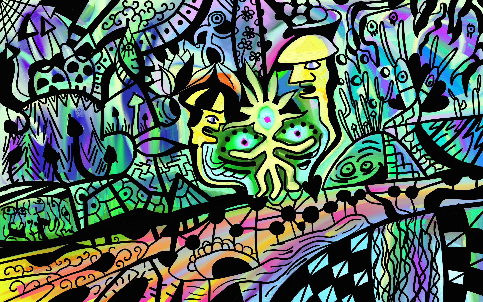 Psychedelic Art Images...