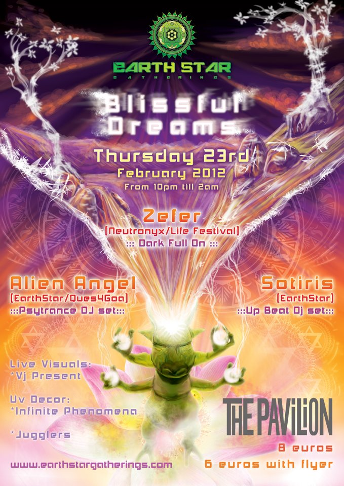 Blissful Dreams Flyer