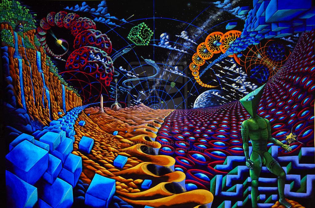 DMT world by Fransis Morgan Burthem