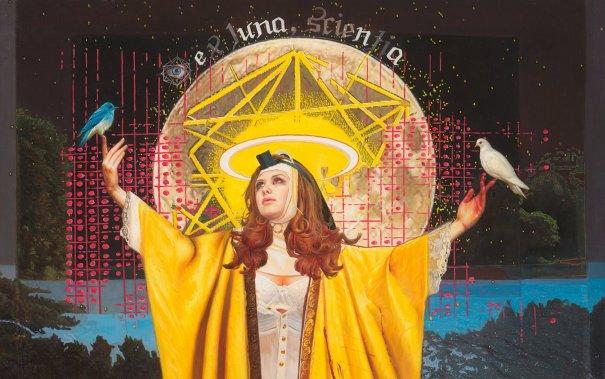 Female Religion - psychedelic art by Menunana