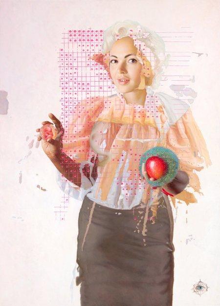 Modifying things - psychedelic art by Menunana