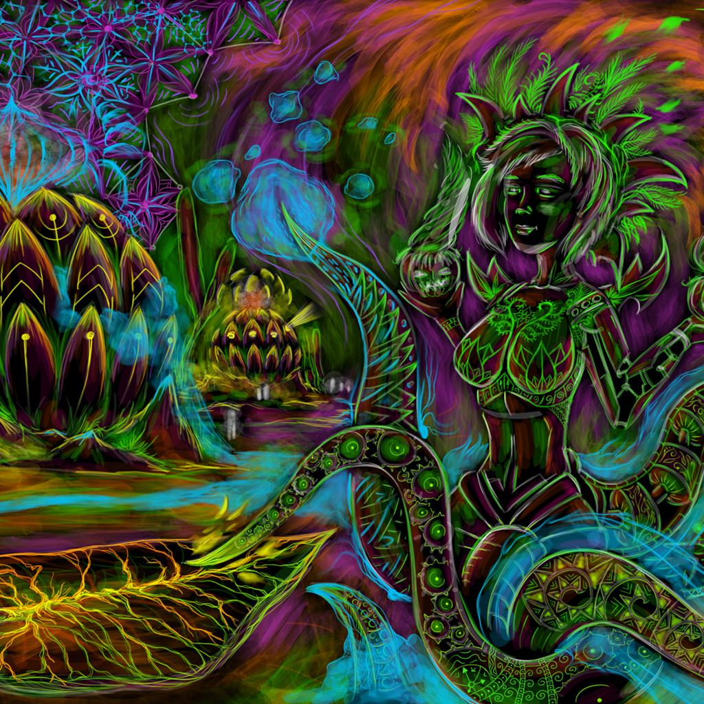 Wonderful Wallpaper Music Trippy - cyber-octopus_1024_1024  Pic_452125.jpg