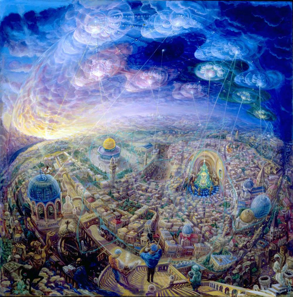 visionary psychedelic art of hana alisa omer andrei verner