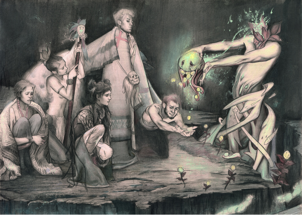 Offering by Rodrigo Enrique Luff