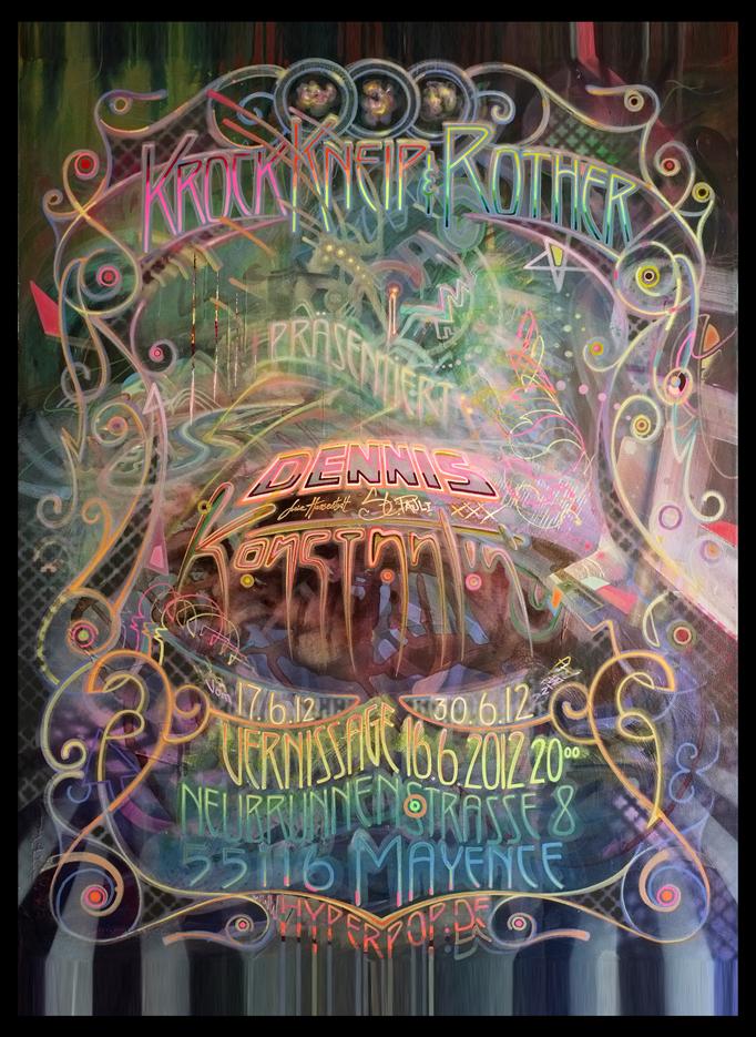 Exhibition by Dennis Konstantin