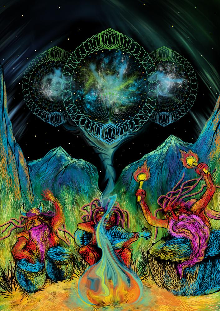 Union of Spirit artwork by Andrei Verner