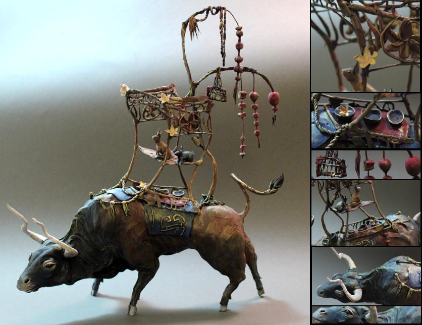 Bull of burden by Ellen June