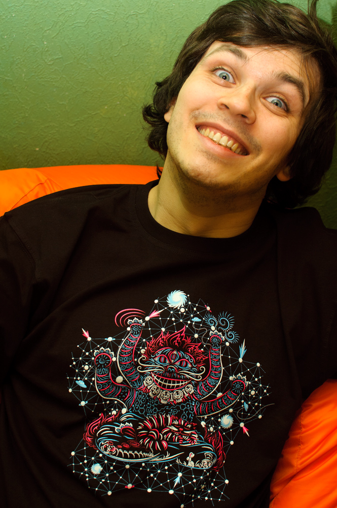Cheshire Cat's Dream Psychedelic T-shirt