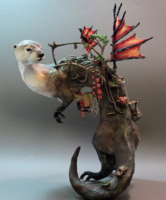 River otter by Ellen June