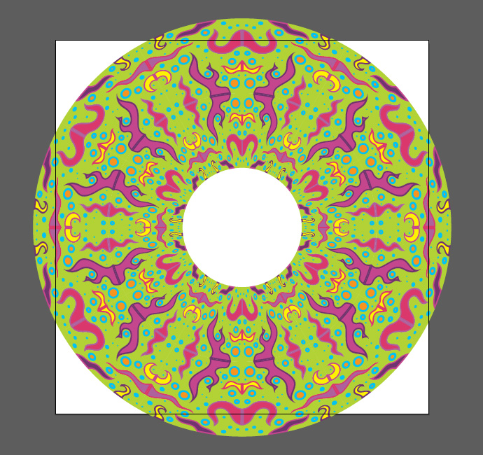 How to make psychedelic vector pattern tutorial - Step 11