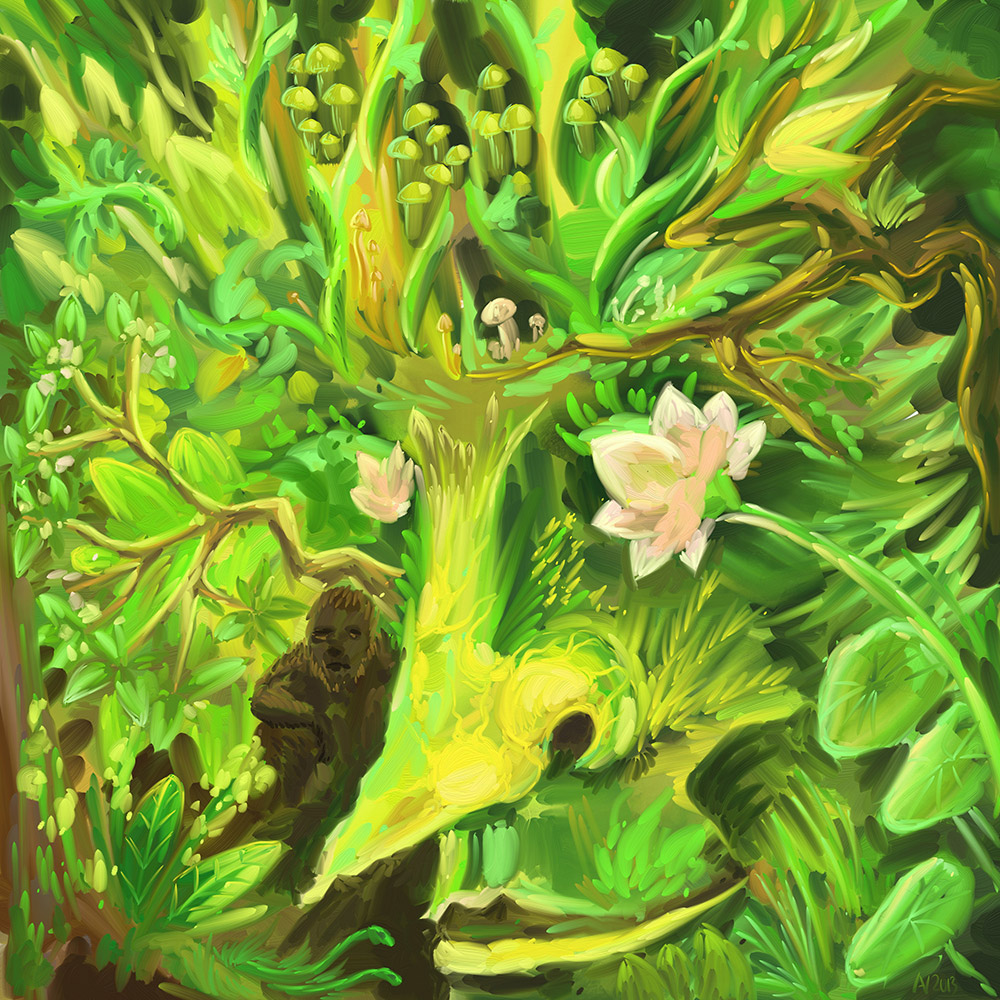 Ubud Forest Spirit by Andrei Verner