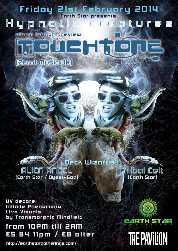 Hypnotic Creatures Poster
