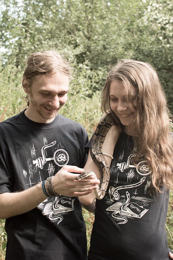 Digital Doodle Reptiles T-shirts