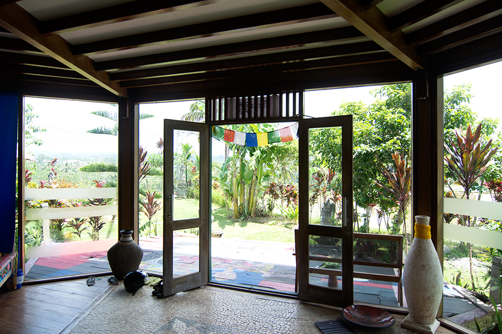 Inside view of our house on Bali