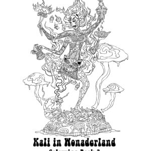 Kali in Wonderland Free Colouring Book