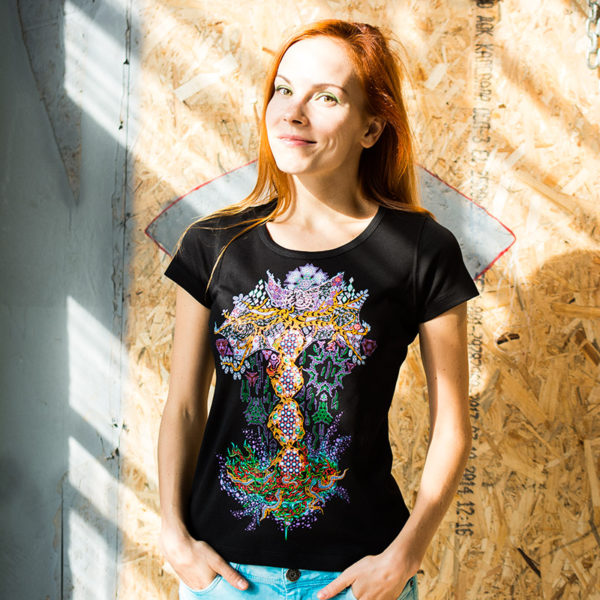 Yggdrasil the Tree of Life - Psychedelic T-shirt