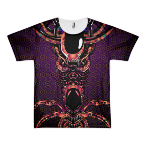 Alien Totem - All Over Print T-shirt
