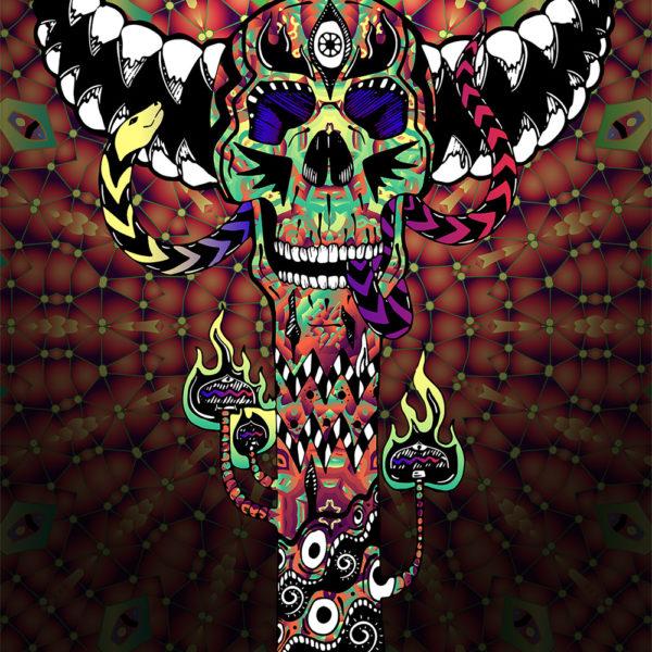 Skull Totem - Art
