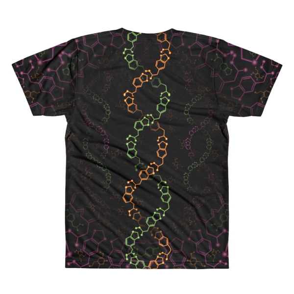 Alexander Shulgin Psychedelic All-Over-Print T-shirt Back