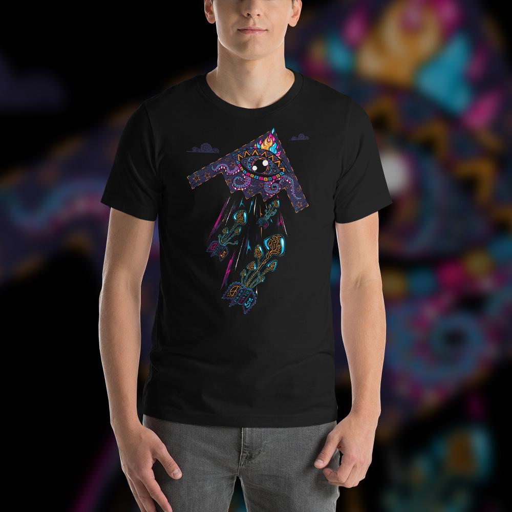 Drop Acid Not Bombs Man T-shirt