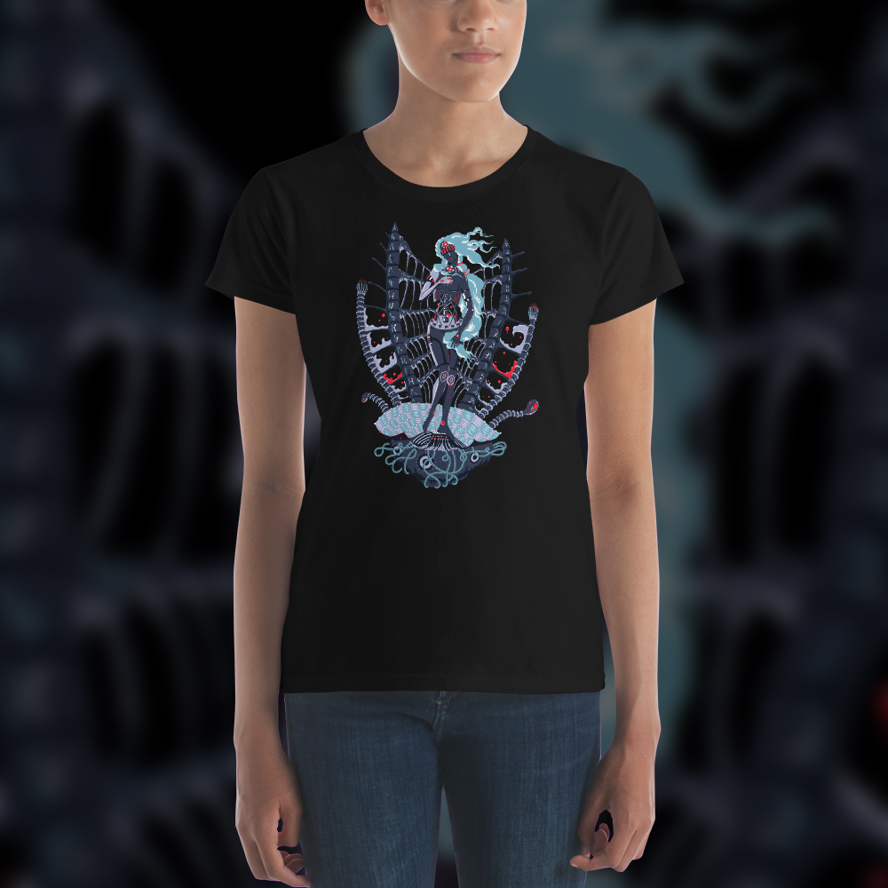 Cyber Venus Lady's Psychedelic T-shirt
