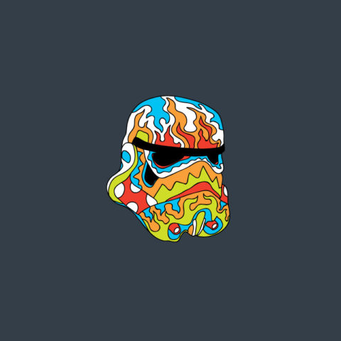 Psychedelic Pins - Trooper