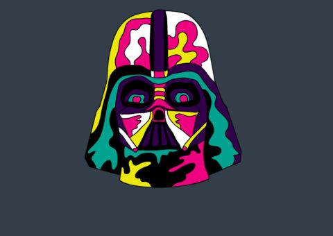 Psychedelic Pins - Vader