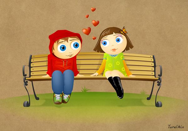 First love by Tarelkin