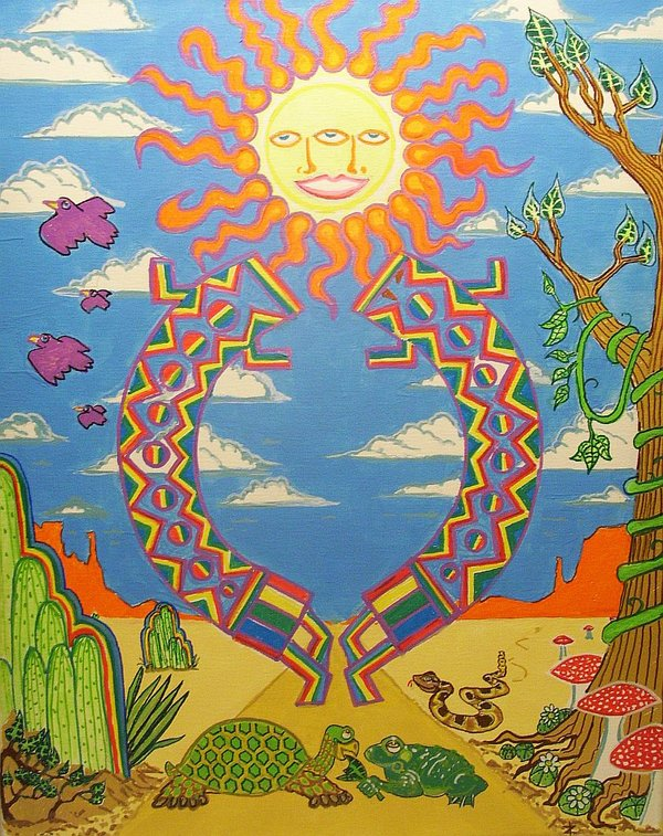 Southwest vision quest by Art of the shaman