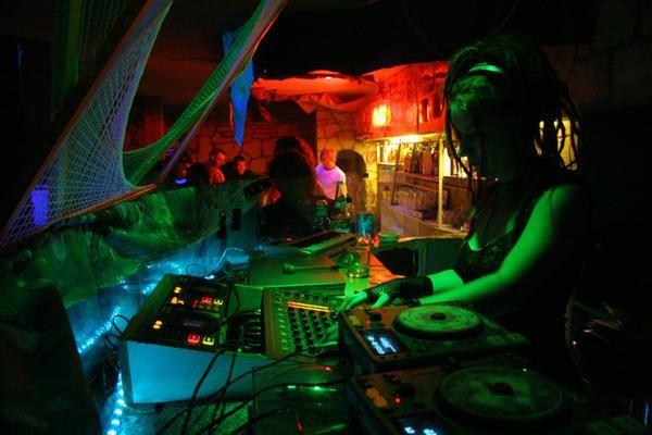 Psychedelic trance DJ Inga Bach