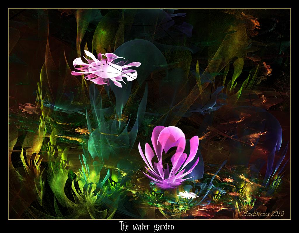 The water garden by szellorozsa