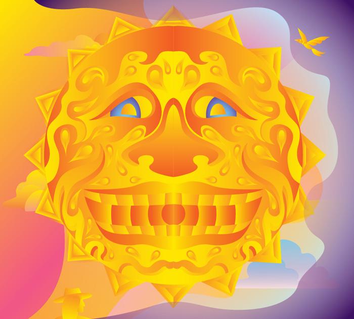 Jon Clark - One Long Skid Vol.1 - album cover design - inside right