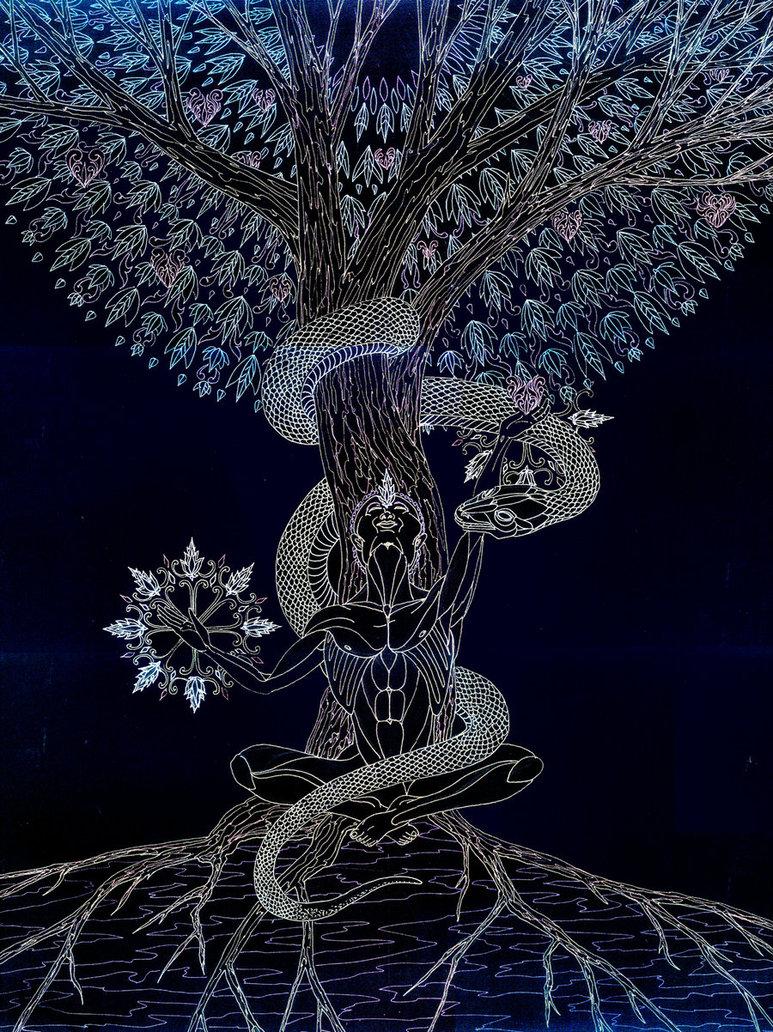The tree of life haven by John Paul 'Lakan' Olivares