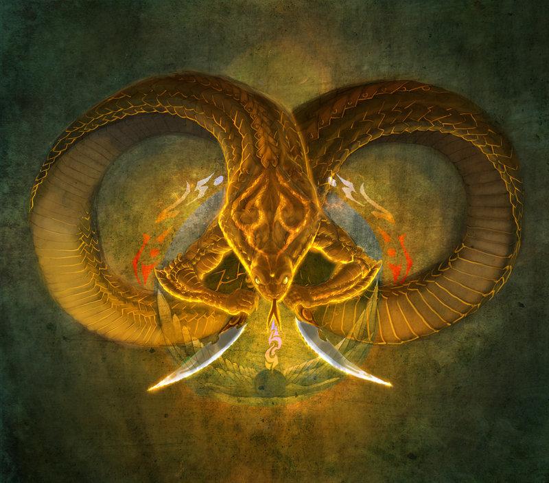 Snake of Millenia by XVIISideris