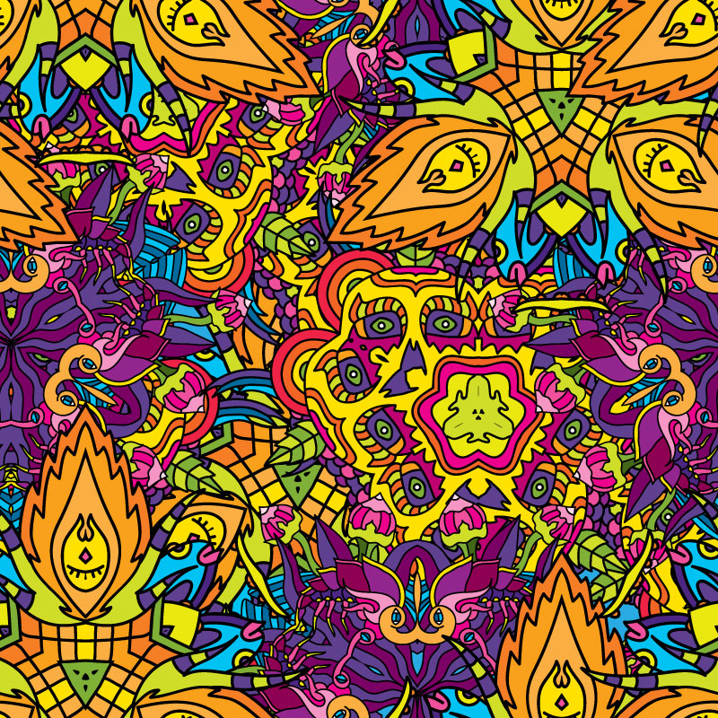 What is psychedelic art?