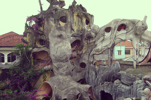 Crazy house in Dalat, Vietnam