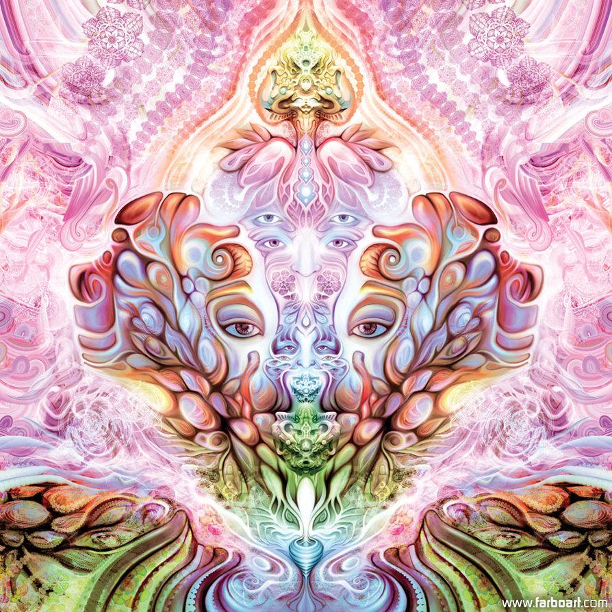 Psychedelic art of Fabián Jiménez