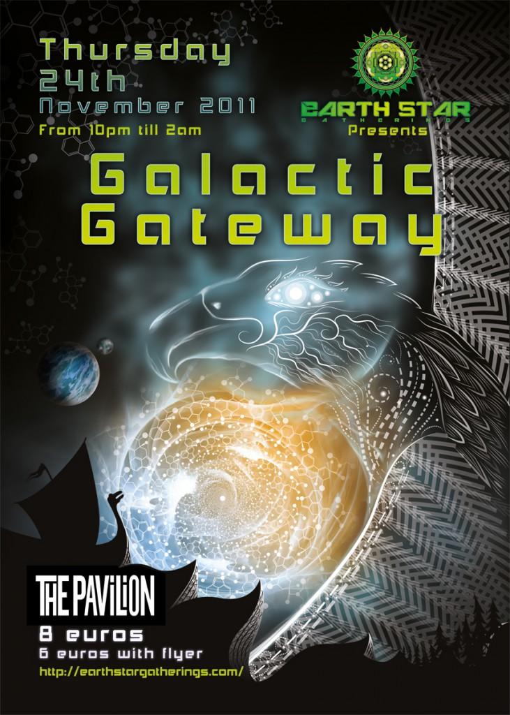 Galactic Gateway Poster