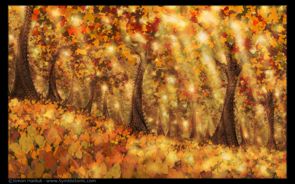 Autumn Dream by Simon Haiduk