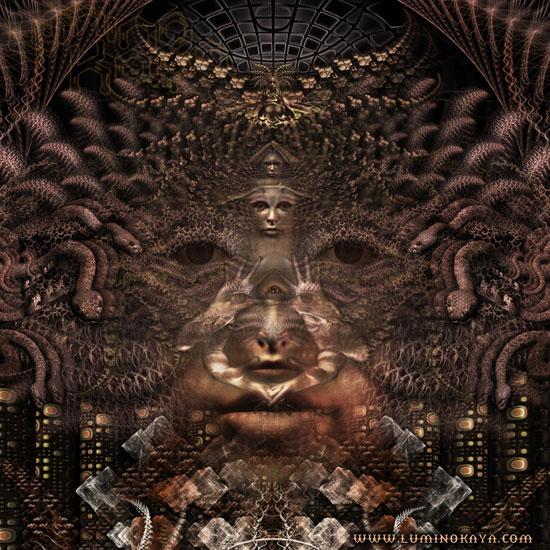 Amazing Psychedelic Art by Luminokaya