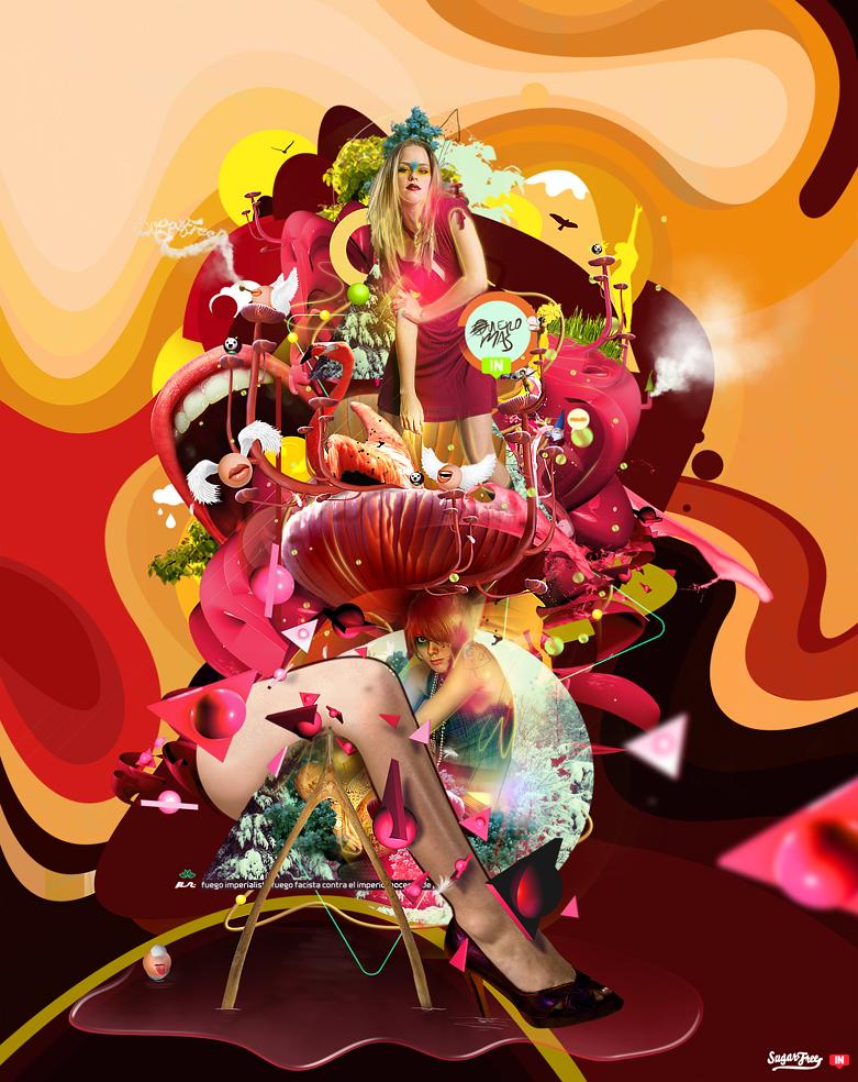 Magic Mushrooms by Luis Miguel Torres