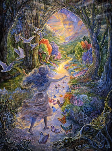 Calling by Josephine Wall