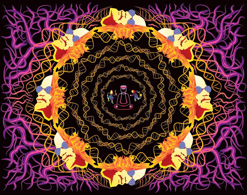 Kremlin Gremlin under the CD art by Andrei Verner