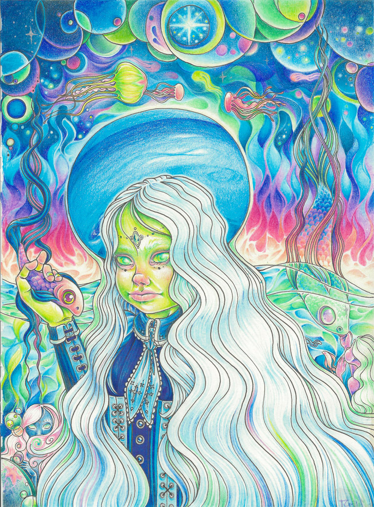 Little lady neptune by Terri Gaddie