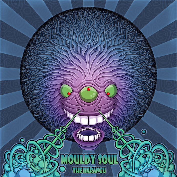 Mouldy soul Psychedelic album cover by Ayalien