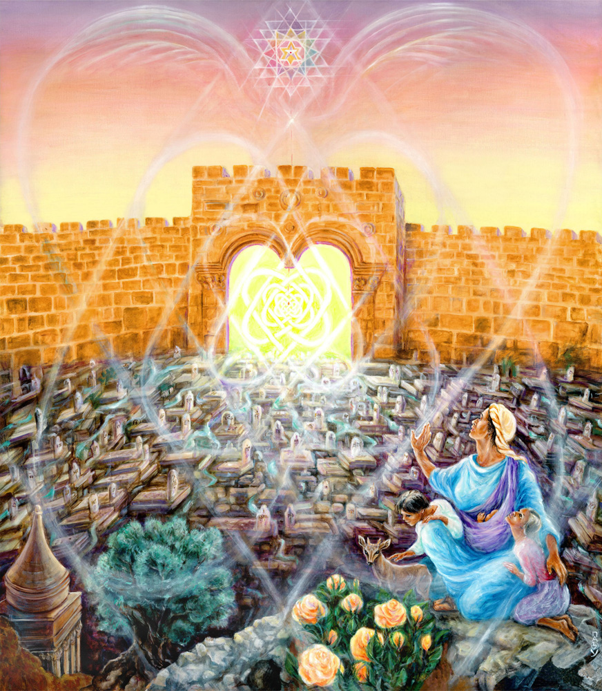 Opening the gates of mercy - Visionary psychedelic art of Hana Alisa Omer